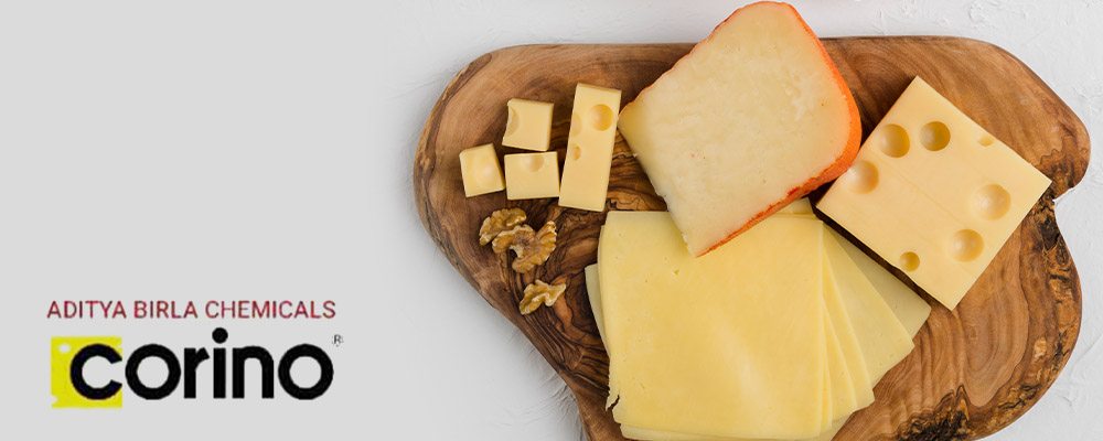CORINO Cheese Solution for Food Manufacturer by Gujarat Enterprise